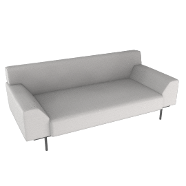 Cini Boeri Sofa with Casters