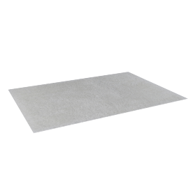 Snow Shaggy Rug - 200x290 cms, White