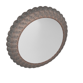 Lagdo Wall Mirror 60X6/80X6Cm-Bronze