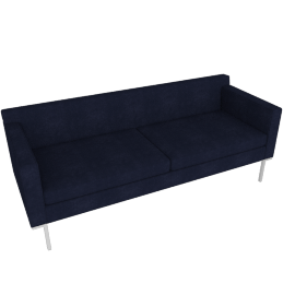 Theatre Sofa, Lama Tweed, Indigo