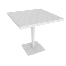 Eos Cafe Table, White