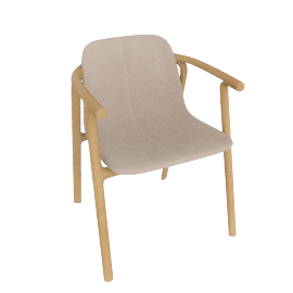 Condehouse - Splinter Armchair(Shell)