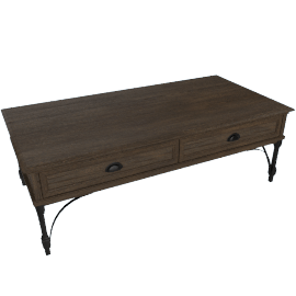 Harmonia 2-Drawer Coffee Table
