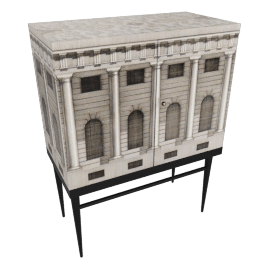 Architecture Raised Small Chest by Fornasetti