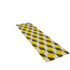 Ravello Flatweave Runner - Yellow.Brown