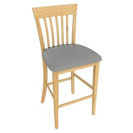 Elliot Bar chair, Oak