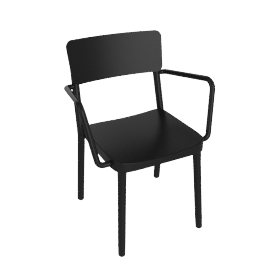 Lisboa Armchair - Black