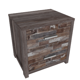 Salvage 2-Drawer Nightstand