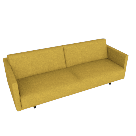 Tuck Sleeper Sofa, Saffron
