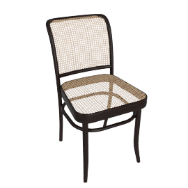 Hoffman Side Chair, Coffee