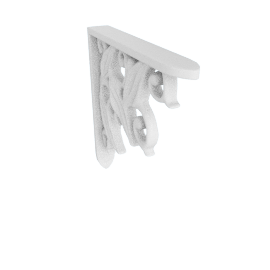 Wall Bracket Lily, White