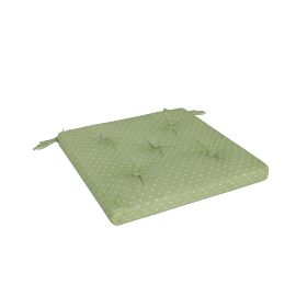 Olivia Chair Pad, Green