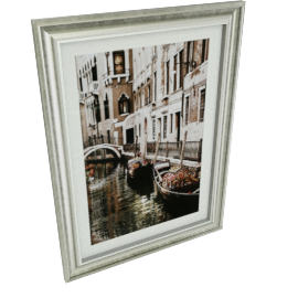Venice Side Framed Picture - 76.5x2x56.5 cms