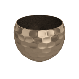 Driss Pebble planter, small