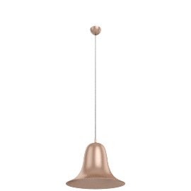 Verpan Pantop pendant light, brushed copper
