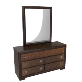 Andaman Dresser with Mirror