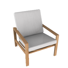 Elan Adjustable Lounge Chair - Teak