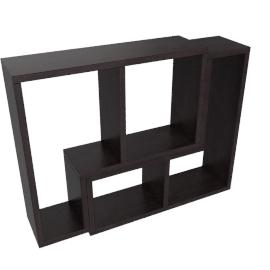 Inset Set of 2 Wall Shelf, Wge