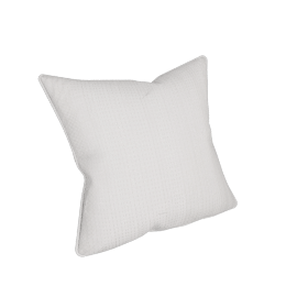 Eternity Cushion Cover - 45x45 cms, White