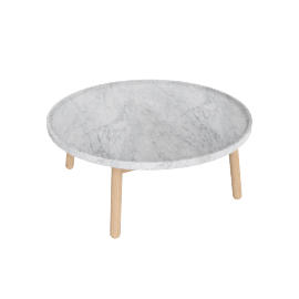Carve Coffee Table Round
