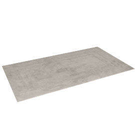 Indulgence Reversible Bath Mat - 100x180 cms, Cream