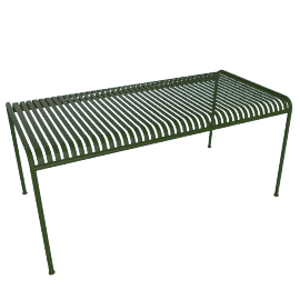Palissade Dining Table, Green