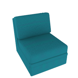 Dizzy Chair Bed, Sky Blue
