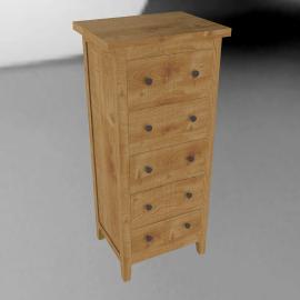John Lewis Grove 5 Drawer CD/DVD Cabinet