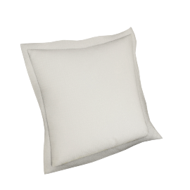 Indulgence 2-piece Cushion Cover Set - 65x65 cms, Cream
