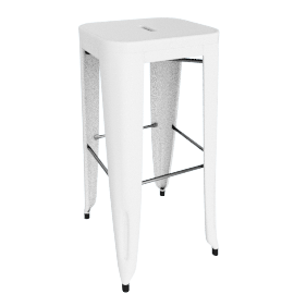 Marais Barstool - White