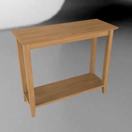 John Lewis Ellis Console TableLight Oak