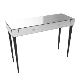 Astoria Mirrored Console Table
