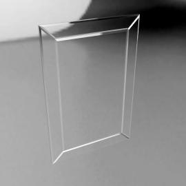John Lewis Bevel Simple Mirror, Medium, 90 x 60cm