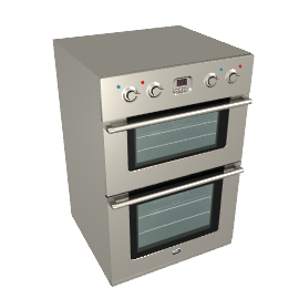 Britannia OV-201LMP-SS Double Electric Oven, Stainless Steel