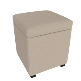Grandview/Mirage Ottoman S 32.5x32.5x40cm, Brown