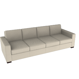 Portola Sofa - 102 in Ultrasuede