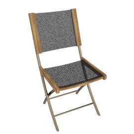 Fiji Folding Garden Sling Chair