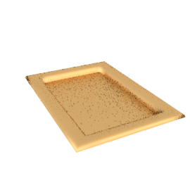 Gold Lacquer Tray