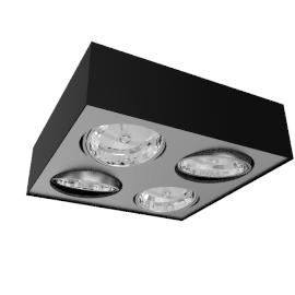 Lirio Bloq 4x50W, black