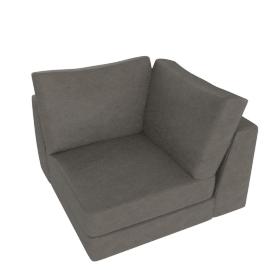 Reid Corner in Leather, slate