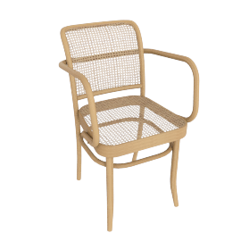 Hoffman Armchair, Natural