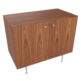 Nelson Thin Edge Cabinet, Palisander