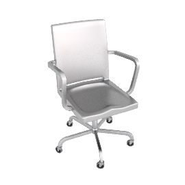 Hudson Task Chair - Brushed