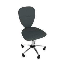 Ashley Desk Chair, Black