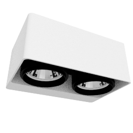 DeltaLight Boxter 2 50, white/black