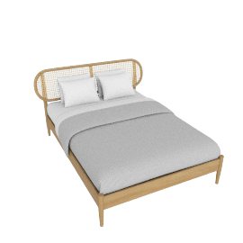 Reema King Size Bed