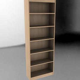 John Lewis Agatha Tall Wide BookcaseOak