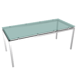 Tavola Glass Table