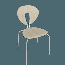 Globus Chair - Wood