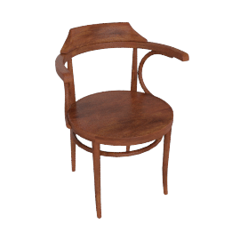 Thonet 233, Walnut